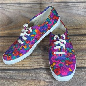KEDS they feel good floral sneakers size 7.5